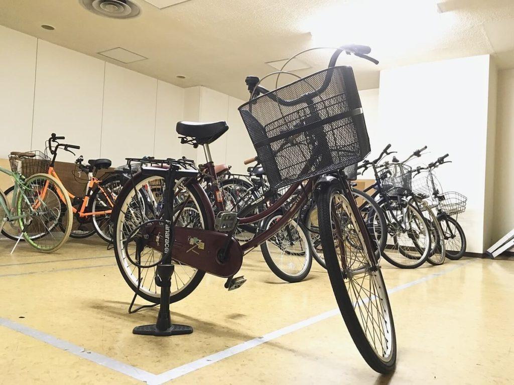 オオサカンスペース 貸し出し自転車